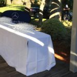 Club House Golf de Beauvallon restaurant Grimaud Golfe de Saint Tropez events terrasse buffet
