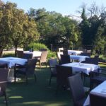 Club House Golf de Beauvallon restaurant Grimaud Golfe de Saint Tropez events terrasse