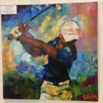 Club House Golf de Beauvallon restaurant exposition Guy Auber Artiste peintre