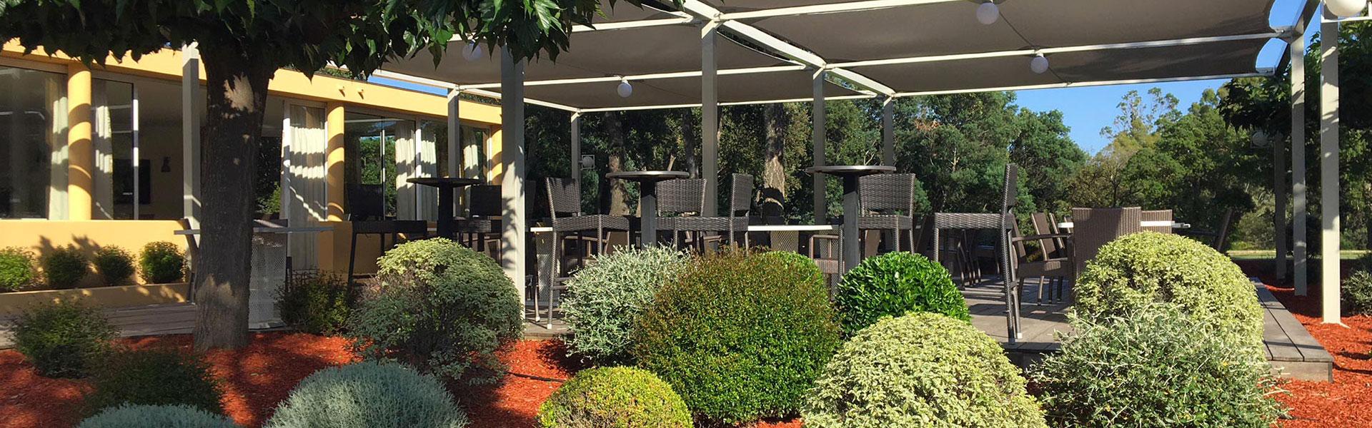Club House Golf de Beauvallon restaurant Grimaud Golfe de Saint Tropez