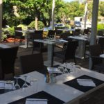Club House Golf de Beauvallon restaurant Grimaud Golfe de Saint Tropez terrasse couverts