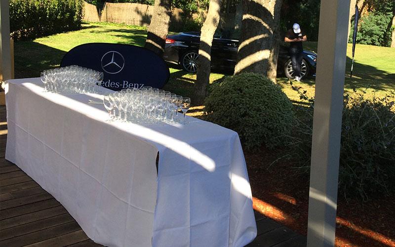 Restaurant Club House Golf de Beauvallon compétition Coupe du président