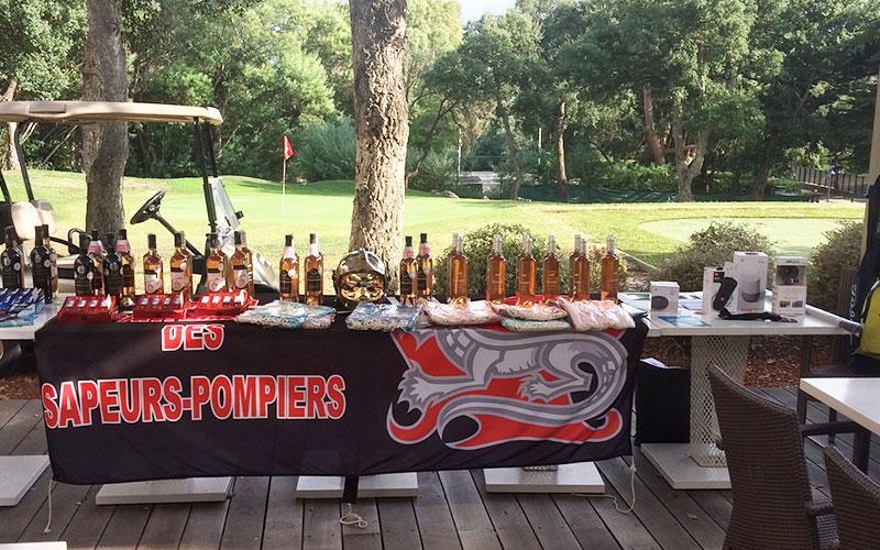 Restaurant Club House Golf de Beauvallon compétition Pupilles des Pompiers du Var