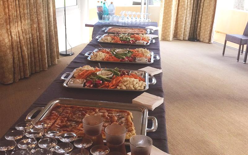Restaurant Club House Golf de Beauvallon compétition Pupilles des Pompiers du Var buffet