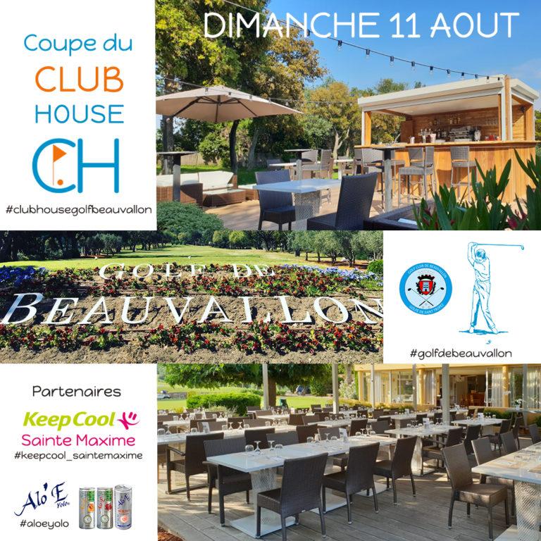Club House Golf de Beauvallon Coupe du Club House