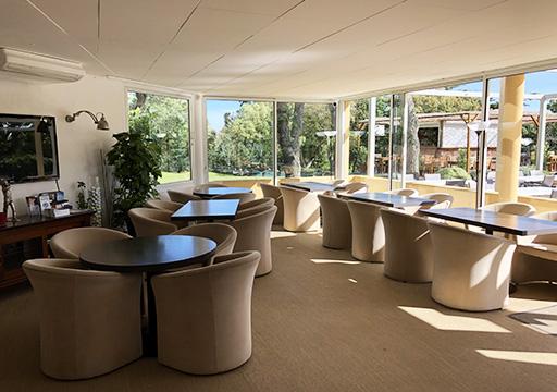 Club House Restaurant - Grimaud Golf de Beauvallon - salle intérieure bas - visuel