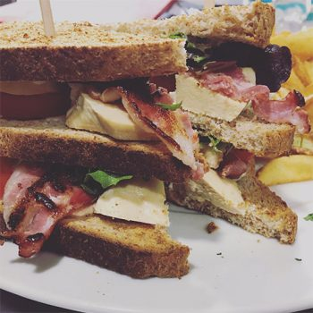 estaurant Club House Golf de Beauvallon carte club sandwich