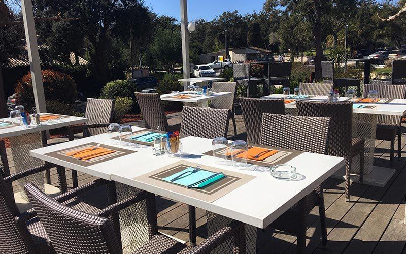 Restaurant Club House Golf de Beauvallon Golf de Beauvallon terrasse
