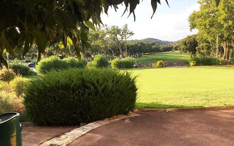 Restaurant Club House Golf de Beauvallon Grimaud Golfe de Saint Tropez